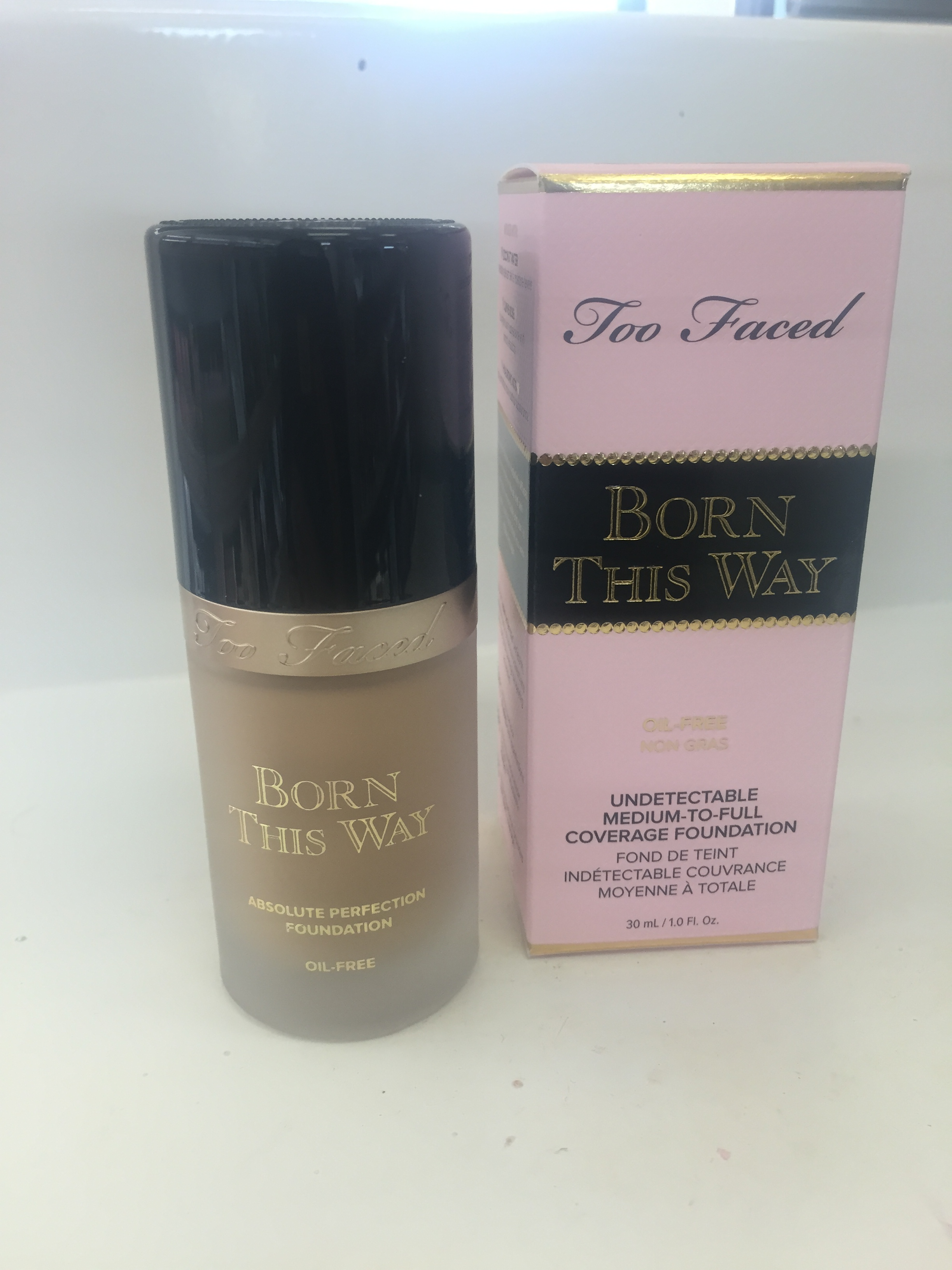 two faced foundation